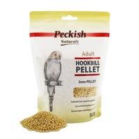 Peckish Adult Hookbill 2mm Pellet Bird Food - 500g