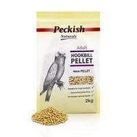 Peckish Adult Hookbill 4mm Pellet Bird Food - 2kg
