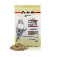 Peckish Adult Lorikeet Pellets  Bird Food Berry - 2kg