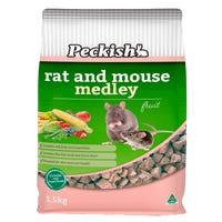 Peckish Rat & Mouse Fruit Food - 1.5kg