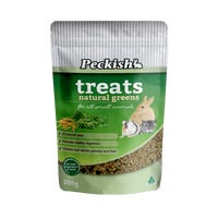 Peckish Small Animal Natural Greens Treats - 200g
