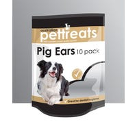 Australian Pet Treat Australian Pig Ear Dog Treats - 10pk