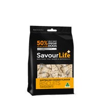 SavourLife Australian Chicken Flavour Biscuits Dog Treats - 500g