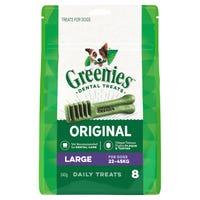 Greenies Original Large Dental Dog Treats - 8pk