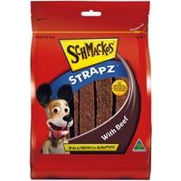 Schmackos Strapz Beef Dog Treats - 1kg