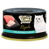 Fancy Feast Royale Tuna Whitemeat Supreme Wet Cat Food - 85g