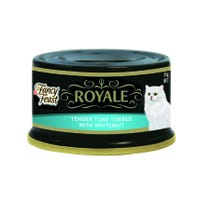 Fancy Feast Royale Tender Tuna Tossed with Whitebait Wet Cat Food - 85g