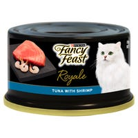 Fancy Feast Royale Tuna with Shrimp Wet Cat Food - 85g