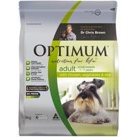Optimum Small Breed Chicken Dry Dog Food - 3kg