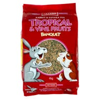 Peters Tropical & Vine Fruits Small Animal Food - 4kg