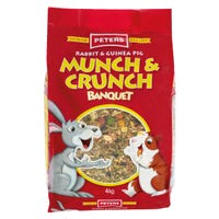 Peters Munch & Crunch Small Animal Food - 4kg