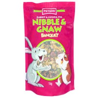 Peters Nibble & Gnaw Small Animal Food - 1kg