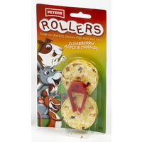 Peters Rollers Small Animal Treat 2pk - 34g