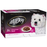 My Dog Chef Select Gourmet Beef Wet Dog Food 100g - 6pk