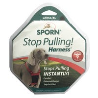 Sporn Mesh Black No Pull Dog Harness - Large/XLarge