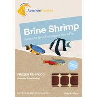 Aquarium Industries Frozen Brine Shrimp Fish Food - 100g