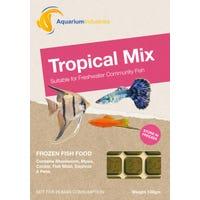 Aquarium Industries Frozen Tropical Mix Fish Food - 100g