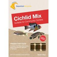 Aquarium Industries Frozen Cichlid Mix Fish Food - 100g