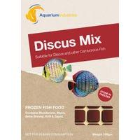 Aquarium Industries Frozen Discus Mix Fish Food - 100g