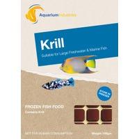 Aquarium Industries Frozen Krill Fish Food - 100g