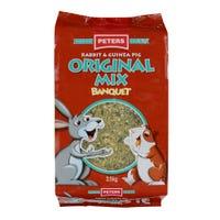 Peters Original Mix Rabbit & Guinea Pig Food - 3.5kg