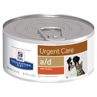 Hill's Prescription Diet A/D Urgent Care Chicken Dog and Cat Wet Food - 156g