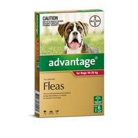 Advantage Flea Spot On Large Dog 10-25kg - 6pk