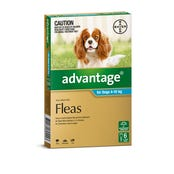 Advantage Flea Spot On Medium Dog 4-10kg - 6pk