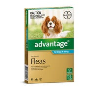 Advantage Flea Spot On Medium Dog 4-10kg - 6pk