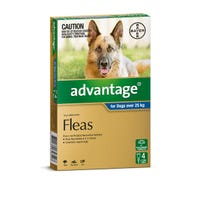 Advantage Flea Spot On Extra Large Dog 25kg+ - 4pk