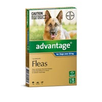 Advantage Flea Spot On Extra Large Dog 25kg+ - 6pk