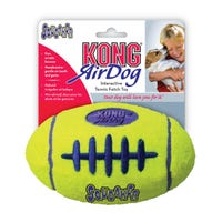 KONG AirDog Squeaker Football Dog Toy - Large