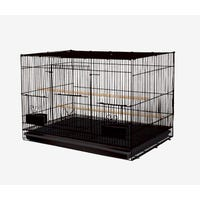 Showmaster Bird Flight Cage Black -Each