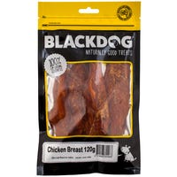 Blackdog Chicken Breast Fillet Dog Treats - 120g