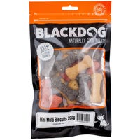 Blackdog Mini Multi Biscuit Dog Treats - 200g