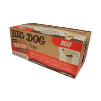Big Dog BARF Dog Beef Frozen Dog Food - 3kg