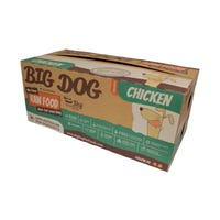 Big Dog BARF Dog Chicken Frozen Dog Food - 3kg