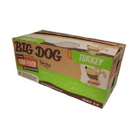 Big Dog BARF Dog Turkey Frozen Dog Food - 3kg