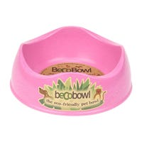 Beco Pink Dog Bowl - Small.jpg