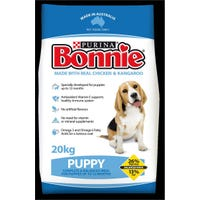 Bonnie Puppy Chicken and Kangaroo Dry Dog Food - 20kg