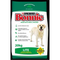 Bonnie White and Lite Chicken Dry Dog Food - 20kg