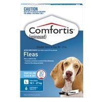 Comfortis Flea Chews Large Dog 18-27kg - 6pk