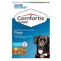 Comfortis Flea Chews Extra Large Dog 27-54kg - 6pk