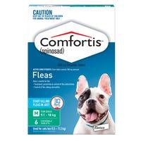 Comfortis Flea Chews Medium Dog 9.1-18kg - 6pk