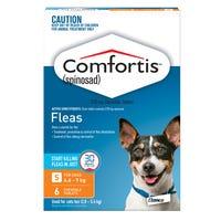 Comfortis Flea Chews Small Dog 4.6-9kg - 6pk