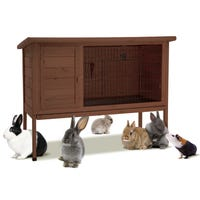 Super Pet Hutch Town House Small Animal Hutch - 48in