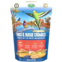 Vetafarm Finch and Budgie Crumbles Bird Food - 2kg