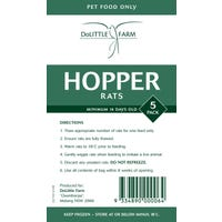 DoLittle Farm Hopper Rats Frozen Reptile Food - 5pk