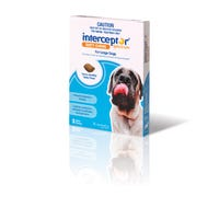 Interceptor Wormer Chews Large Dog 22kg+ - 3pk