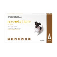 Revolution Spot On with Cannex Wormer Small Dog 5.1-10kg - 3pk